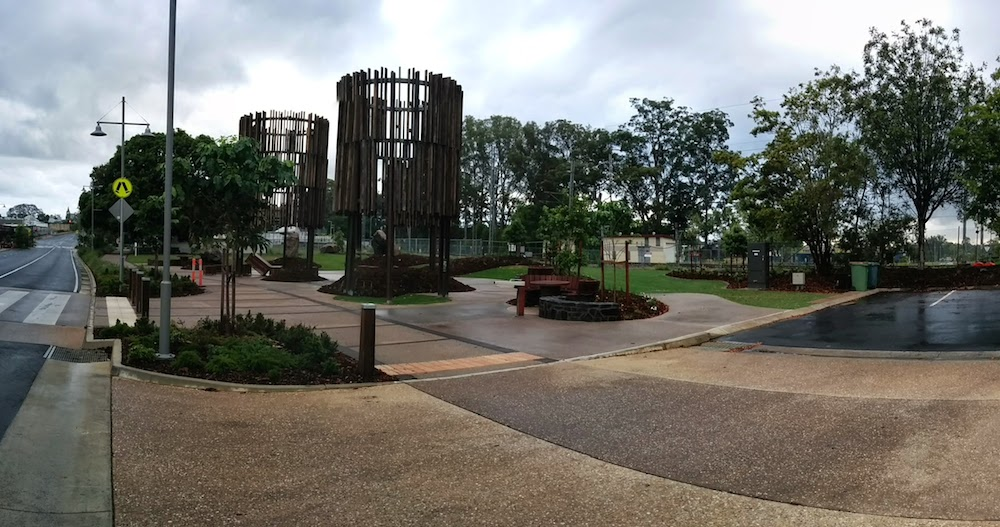 Beerwah Park and Water Towers and Pineapple Boxes 2014