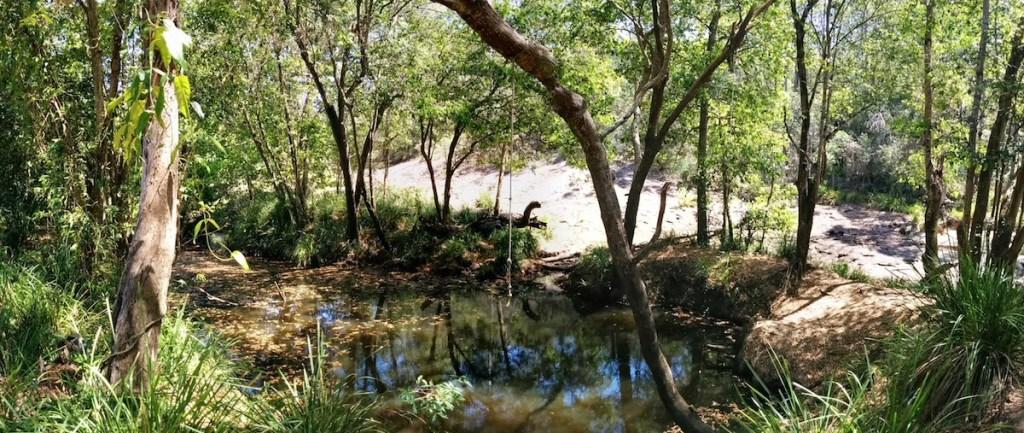 The Beerwah Waterhole Coochin Whirlpool 2014