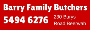 Ad Barry Family Butchers 300x100