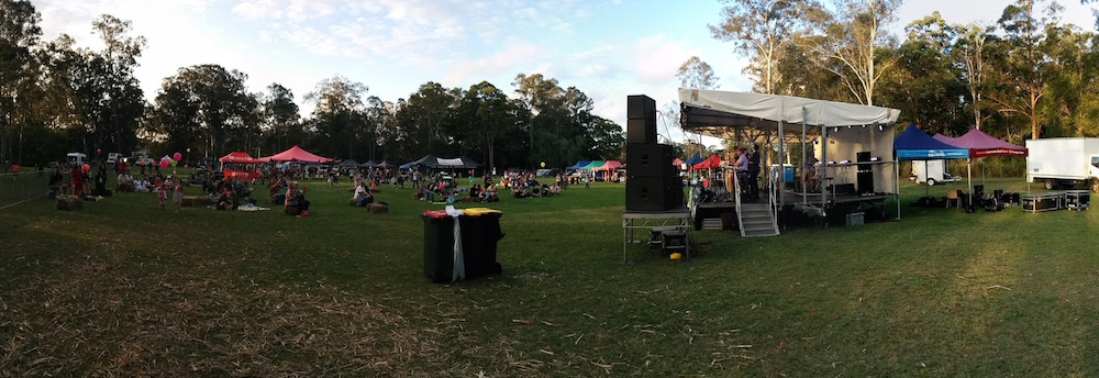 PANO Side Shot of Stage 20150905