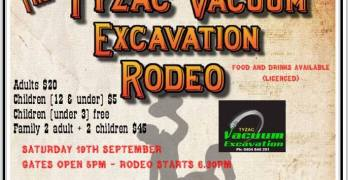Rodeo at the Glasshouse Mountains Sports Club – 19th of September