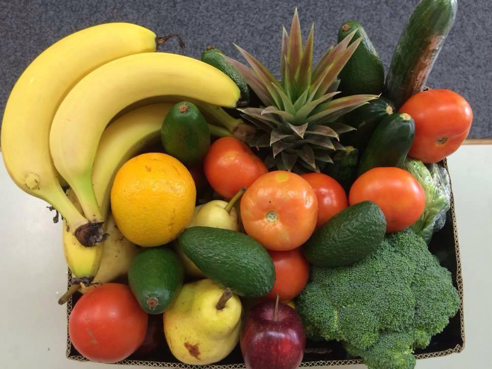 Nan and Pops Vegitable and Fruit Box
