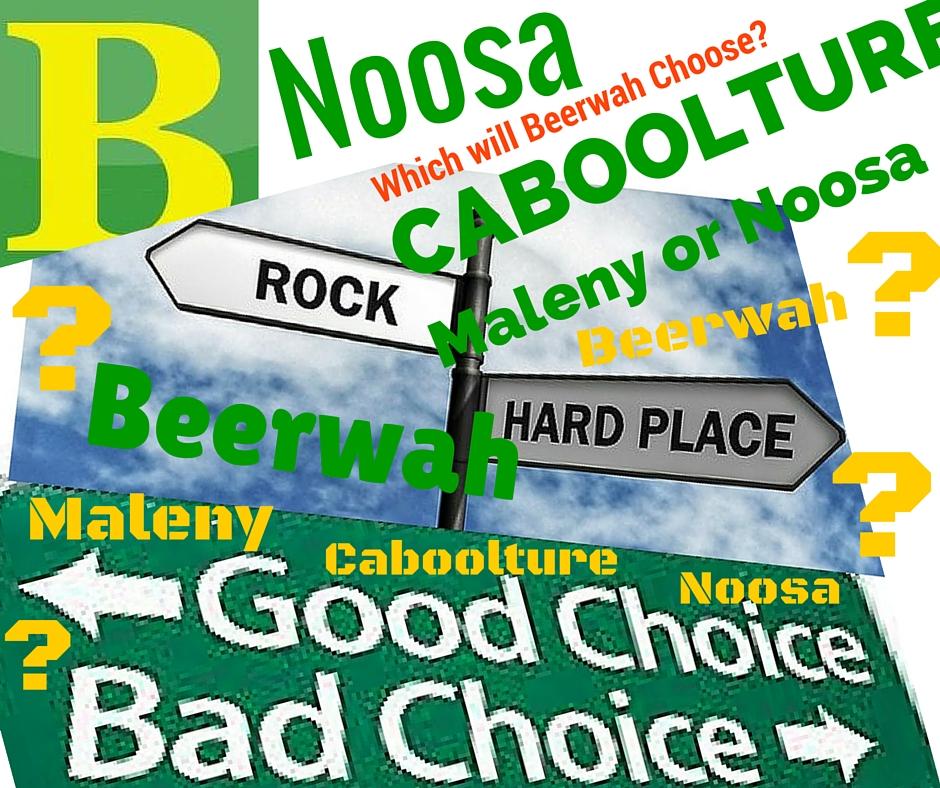 Beerwah Noosa Maleny Cabooluture Choose