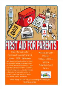 First Aid for Parents and Carers of young children