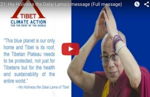 Dalai Lama joins Pope Francis calling for ambitious Paris climate agreement
