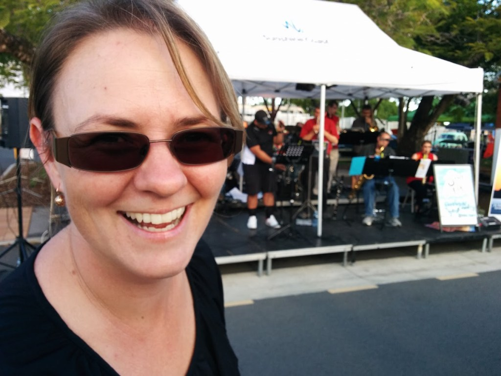 Jenny Brod the dyanmo behind the Music Team and Glasshouse Tractors