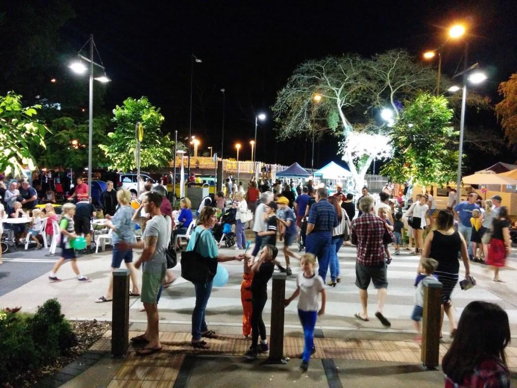 Simpson Street Crossing at Beerwah Street Party 2015