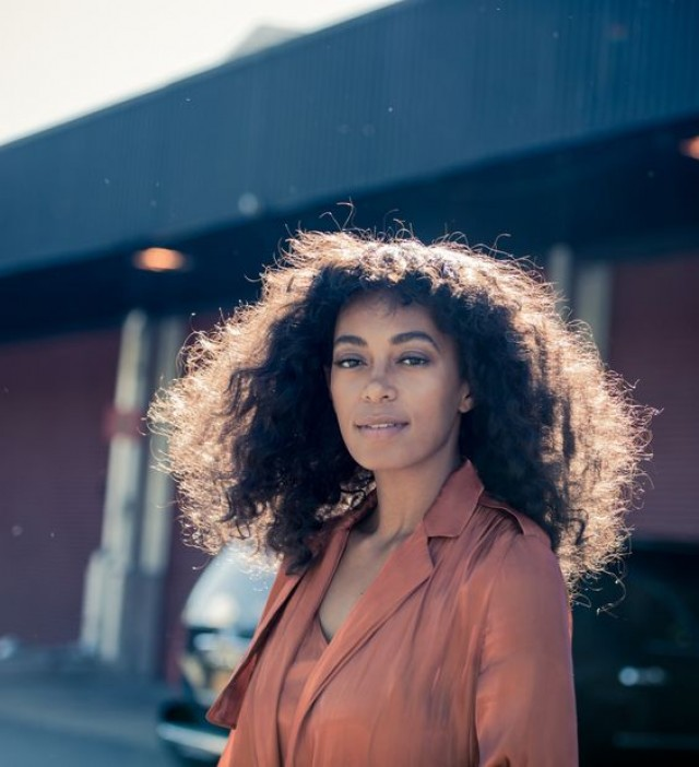 Image result for solange knowles curly hair