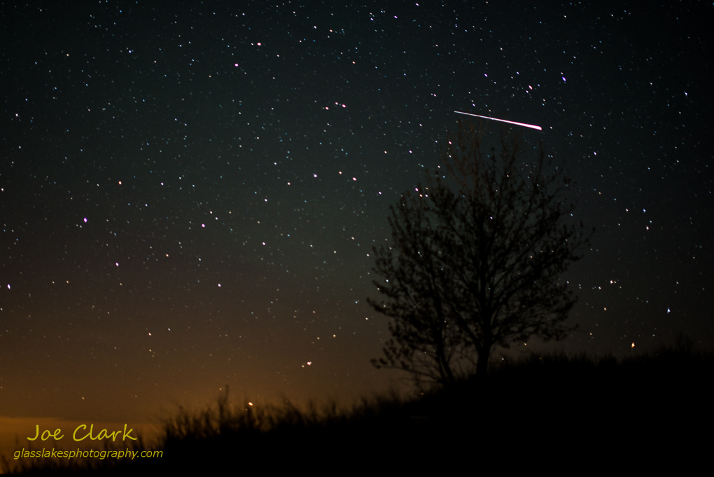 Camelopardalids Meteor by Joe Clark www.glasslakesphotography.com