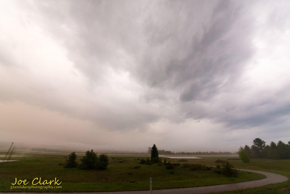 storm clouds northern michigan petoskey photographer Joe Clark