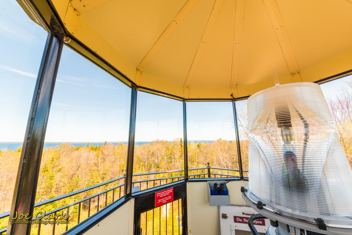 McGulpin Lighthouse HDR photogrpaher Joe Clark petoskey northern Michigan