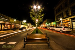 Mitchell Street downtown Petoskey photographer Joe Clark