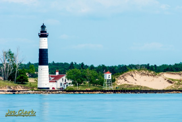Independance Day at Big Sable Point, Ludington Michigan photographer Joe Clark