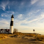 Big Sable Lighthouse scenery. By Joe Clark.