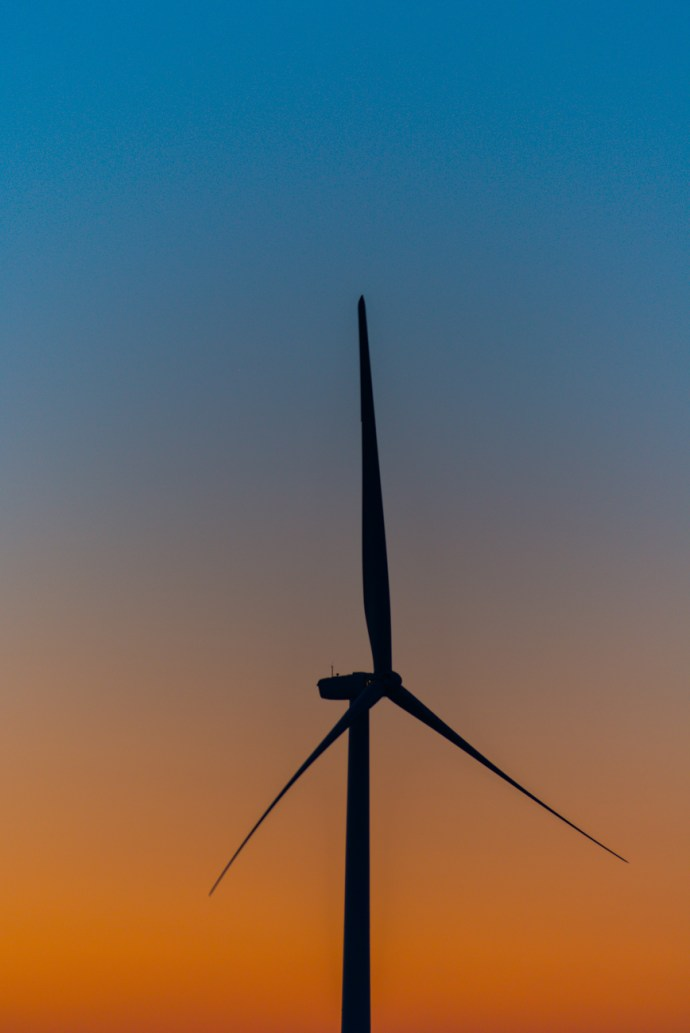 Sunset Windmill. By Joe Clark.