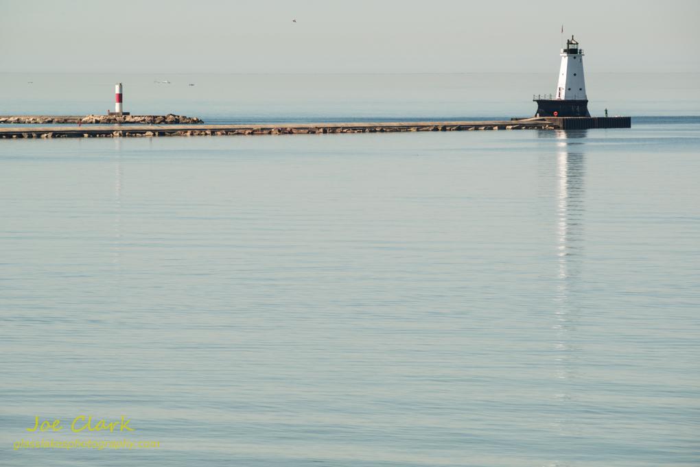 Ludington Lighthouse scenery. By Joe Clark.