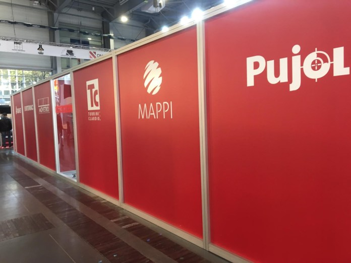 Mappi Glass Tempering Furnace in Exhibition