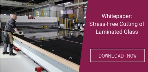 Lisec Laminated Glass Cutting