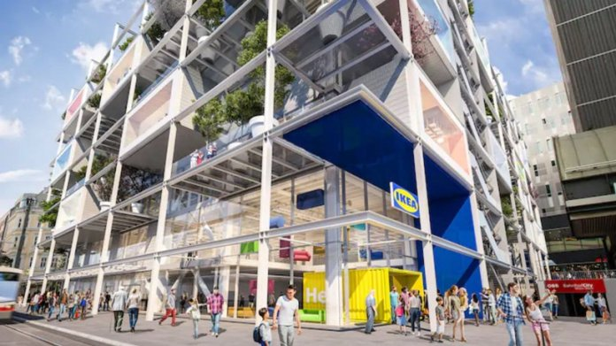 IKEA plans new city store in vienna, complete with green façades and no car parking