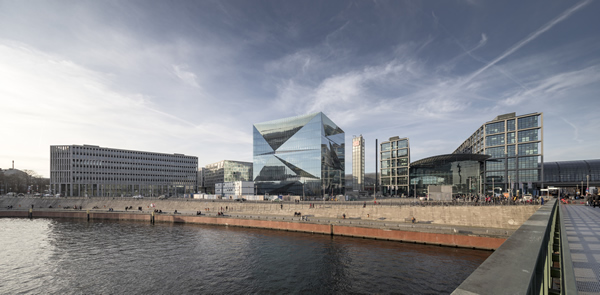 Guardian Glass Project: cube berlin