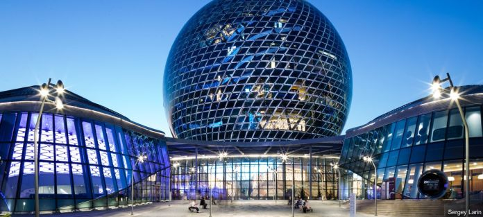 Guardian Glass Project: Astana Expo