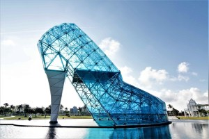 High-heeled Wedding Church, Taiwan