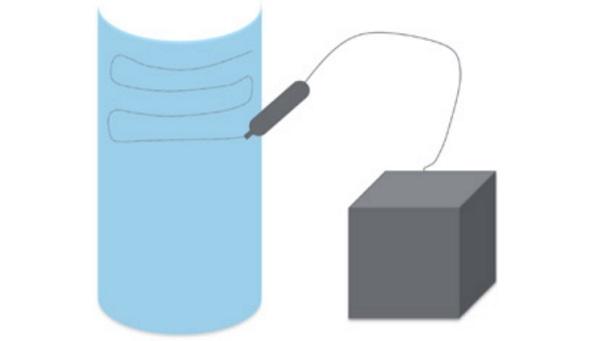 Indicative test set-up of the thermal fringes method - Fig14_7