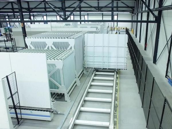 Forel Glass Sorting System in Van Noordenne Plant at Netherlands