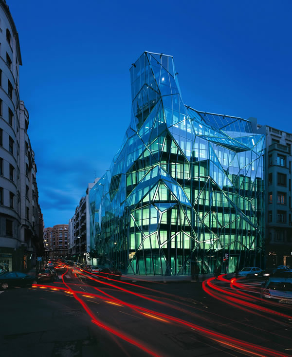 Guardian Glass Project: Basque Health Department Headquarters
