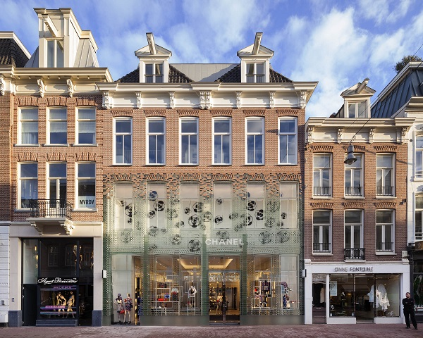 Façade of the Crystal House in Amsterdam. Photo: Daria Scagliola & Stijn Brakkee