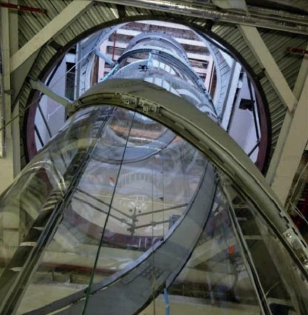 Image 5 Lift shaft under construction, Wintersgill Architects