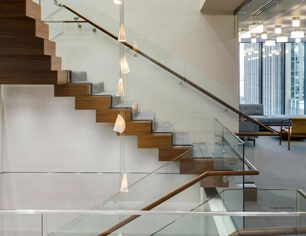 Floating Spiral Staircase With Glass Railing Increases Natural   Spiral Staircase With Glass Railing   Metal   Residential   In India Staircase   Contemporary Glass   Thin Glass