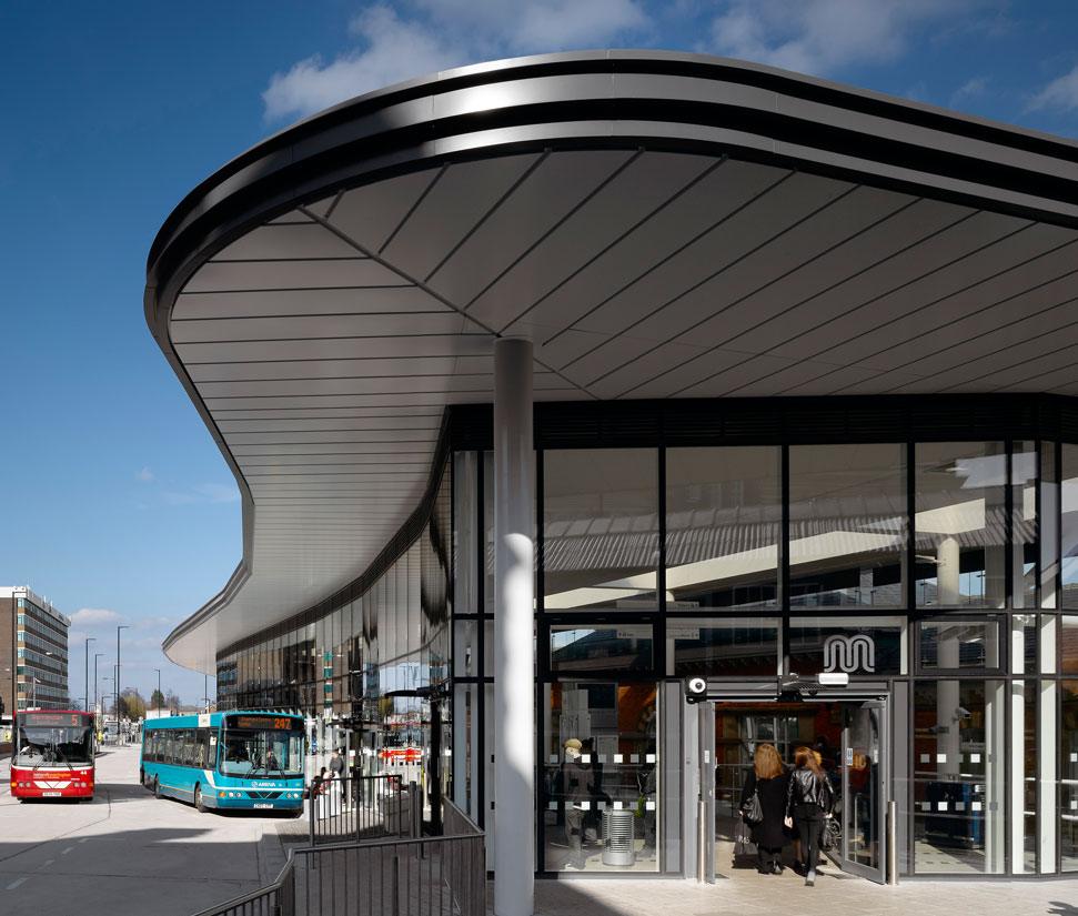 Kawneer systems help transport interchange move into the 21st Century