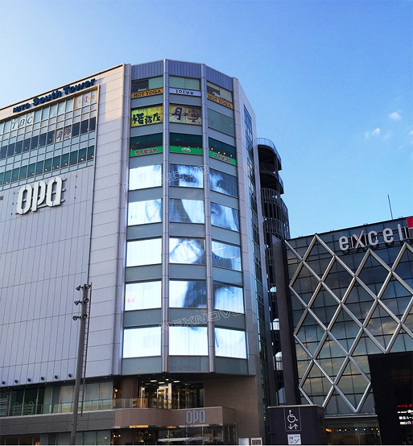 New application of NEXNOVO glass wall for South Tower in Japan