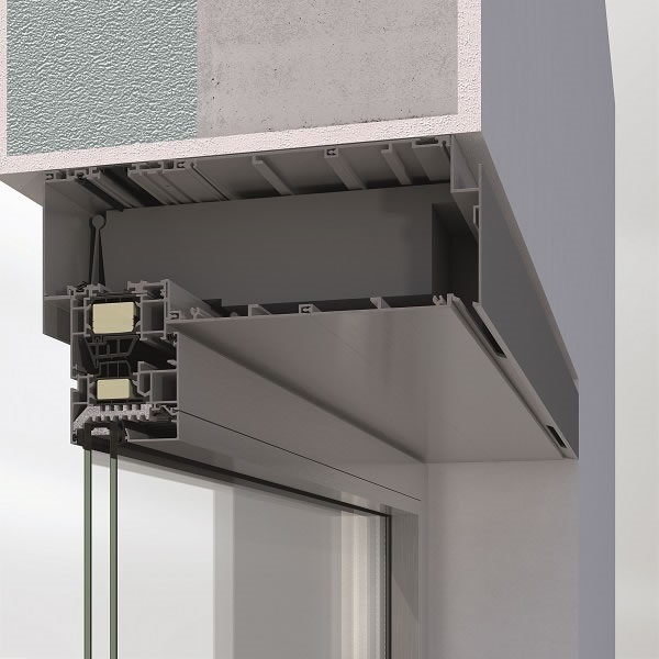 Picture credits: Schüco International KG The Schüco VentoTherm Advanced ventilation system is a window-integrated ventilation and extraction system with air filter, heat recovery and sensor control which allows continuous air exchange when the window is closed.