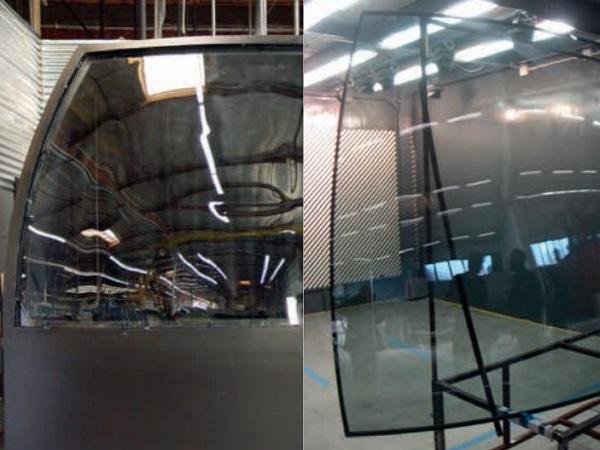 Image 3: visual quality inspection of different glass samples, Hugo Mulder