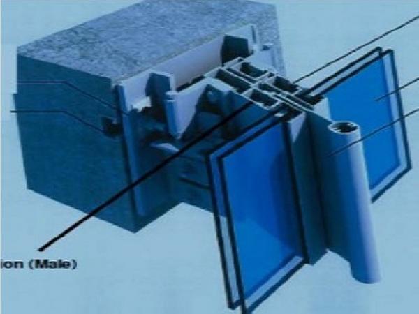 structural design of a glass facade