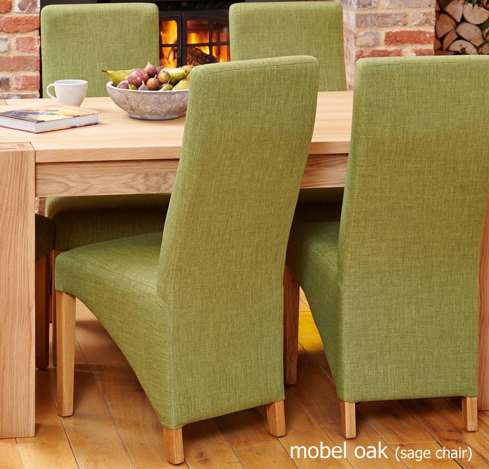 BUNDLE – Mobel COR04B Table with 6 x COR03J Chairs