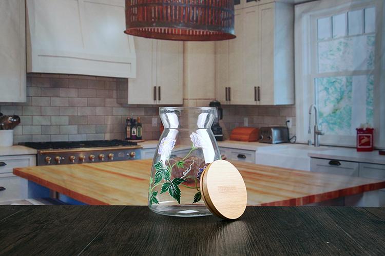 1000ml sealed glass jars