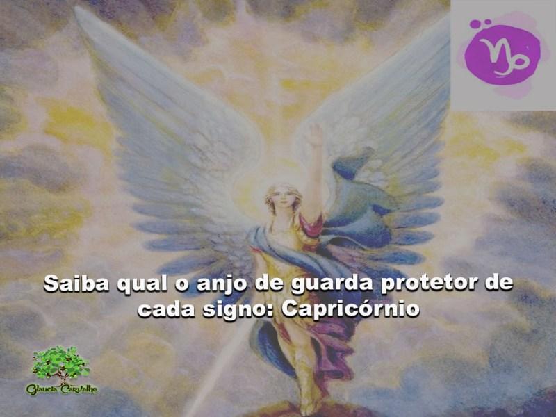 anjo protetor do signo de capricornio