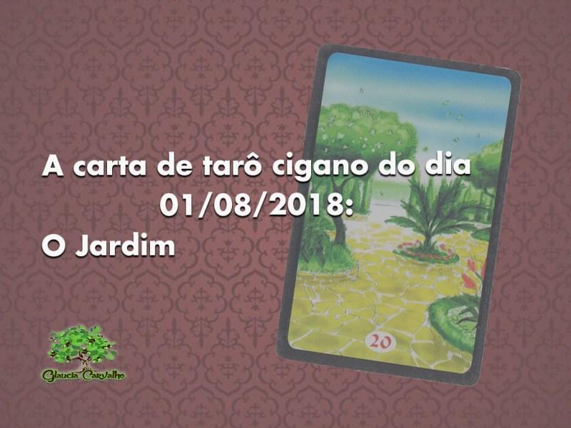 A carta de tarô cigano do dia 01/08/2018: O Jardim