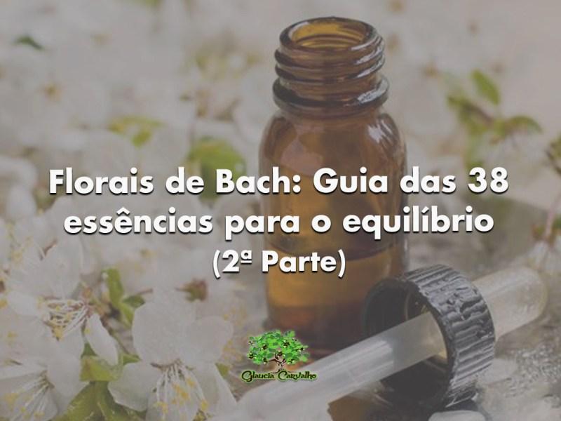 Florais de Bach: Guia das 38 essências para o equilíbrio (2ª Parte)