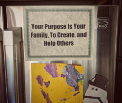 Put your purpose out front and center