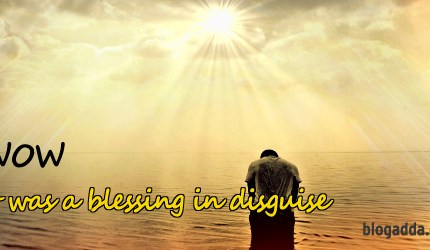 It's a Blessing in Disguise – WOW