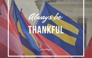 health thankful