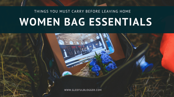 women bag essentials