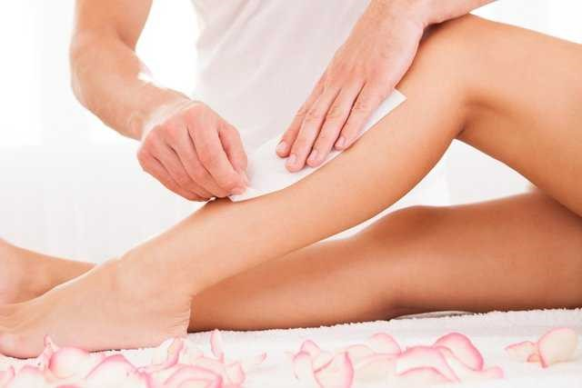 waxing hair removal solution