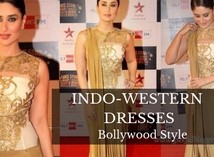 Awesome Indo Western Dresses Worn by Bollywood Actresses
