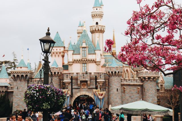 Disneyland fairy tale blind date travel destination