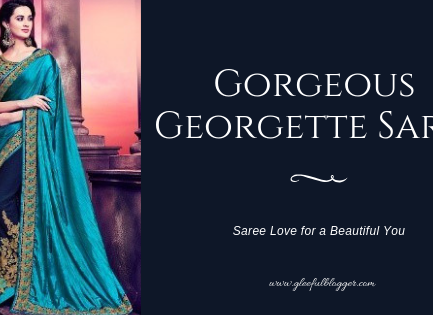 georgette sarees are forever